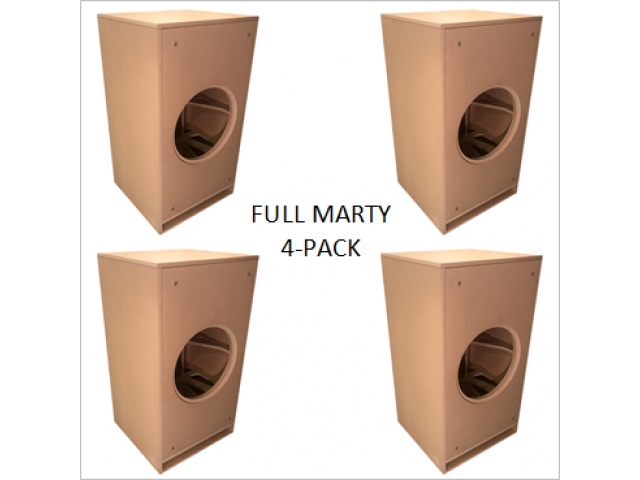 Fully Marty - 4 pack split