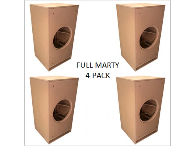 Split a 4 pack of Full Marty's